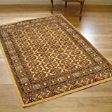 New Traditional Vegas Rug In Beige