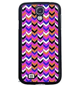 Printvisa Multicolour Zigzag Pattern Back Case Cover for Samsung Galaxy S4::Samsung Galaxy S4 i9500