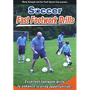 Soccer Coaching:Soccer Fast Footwork Drills movie