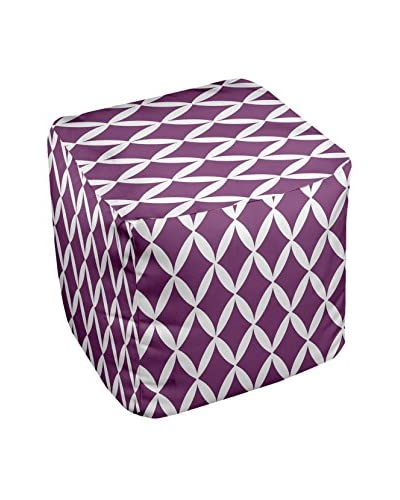 e by design Decorative Geometric Pouf