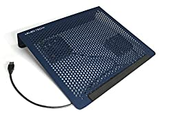 Alien Tech - MetaCooler AT01 - Laptop Cooling Pad with 2 high performing USB fans (oxford blue)