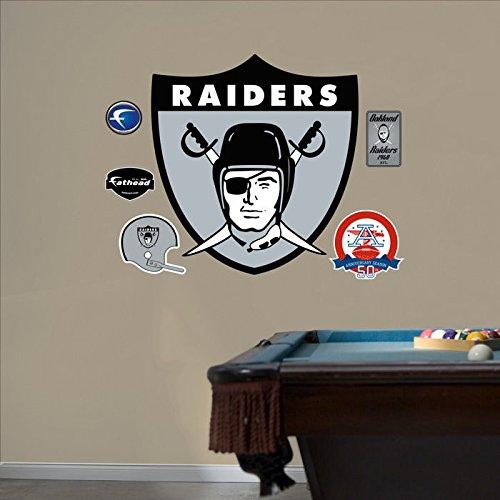 NFL Oakland Raiders AFL Logo Fathead Wall Graphic
