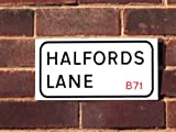 West Brom Halfords Lane Football Street Road Sign 10 x 6 Inches