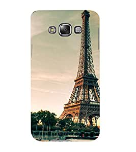 Mental Mind 3D Printed Plastic Back Cover For Samsung Galaxy E7- 3DSAME7-G346