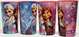 Disney Frozen Anna & Elsa Plastic Cup 20 Oz (Set of 4)