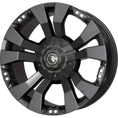Raceline Rampage Black Wheel with Painted Finish (18x9/5x127mm)