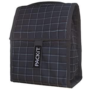 PackIt Freezable Lunch Bag, Plaid