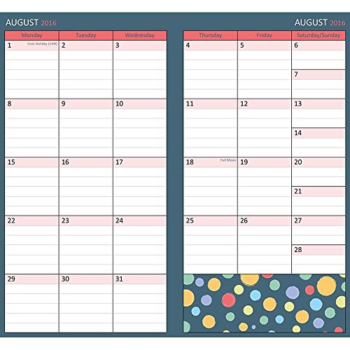 Calendar Planner Php : Donuts two year pocket planner calendars