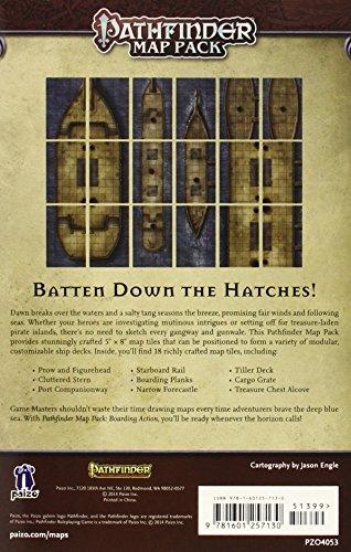 Pathfinder Map Pack: Boarding Action (Pathfinder Adventure Card Game)