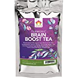 Shifa Brain Boost Tea With Turmeric: Rejuvenating Tonic Enhances Memory, Focus and Mood with Super Herbs, Phytonutrients and Antioxidants - 2 oz.