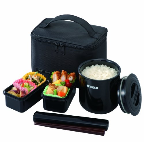 Tiger LWY-E046 Thermal Lunch Box, Black (Tiger Food compare prices)