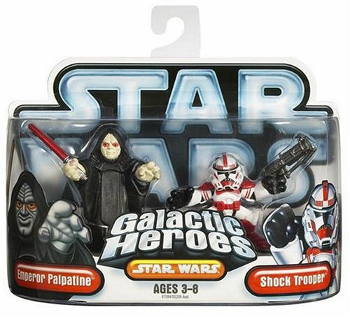 Star Wars Galactic Hero Emperor & Red Shock Trooper подвижная модель куклы hasbro star wars black