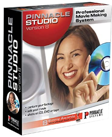 Pinnacle Studio 8.0 Video Editing with CD/DVD Authoring