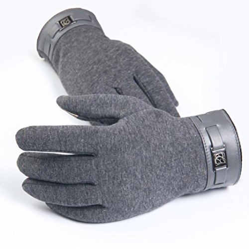 Timberland Men's Ribbed-Knit Wool-Blend Gloves $ - If your tastes trend towards formal and reserved, or say you're buying a gift for an older male relative, this pair from Timberland is a solid choice.