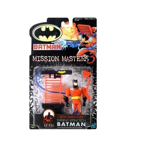 Batman: The New Batman Adventures Mission Masters 3 Inferno Extinction Batman Action Figure - 1
