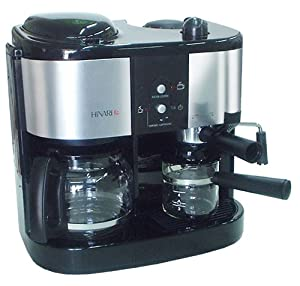 Continental Electric Coffee Maker How To Use : Hinari CC905 Cafe Continental 2 in 1 Espresso/Cappuccino and Filter Coffee Maker Black: Amazon ...