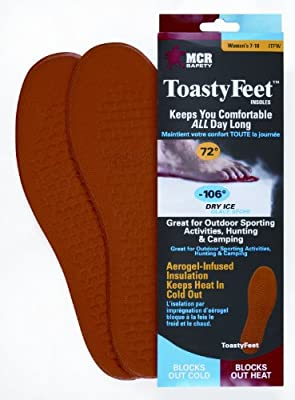 MCR Safety Toasty Feet Thermal Barrier Insoles