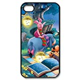 Winnie the Pooh Eeyore Piglet Custom Printed Design Durable Case Cover for Iphone 4 4S