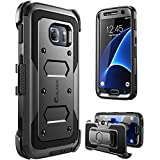 Galaxy S7 Case, [Armorbox] i-Blason built in [Screen Protector] [Full body] [Heavy Duty Protection ] Shock Reduction / Bumper Case for Samsung Galaxy S7 2016 Release (Black)