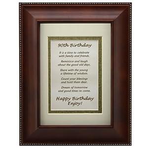 Amazon Wedding Gift List Review : ... Birthday Toast Poem 90th Birthday Gift: Amazon.co.uk: Kitchen & Home