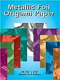 Metallic-Foil-Origami-Paper-18-5-7-8-x-5-7-8-Sheets-in-9-Colors