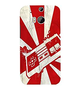 printtech Pop Culture Game Back Case Cover for HTC One M8::HTC M8