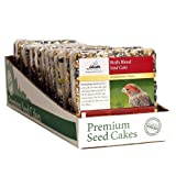 Heath Outdoor Products SC-21 Birds Blend Seed Cake, 7-Ounce - 12 Cakes per Box