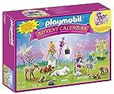 Playmobil - 5492 - Calendrier De L'Avent - Fées Avec Licorne Et Animaux De La Forêt