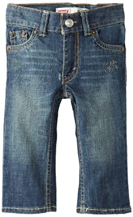 Levi's Baby-boys Infant 514 Straight Fit Jean, Atlas, 12 Months