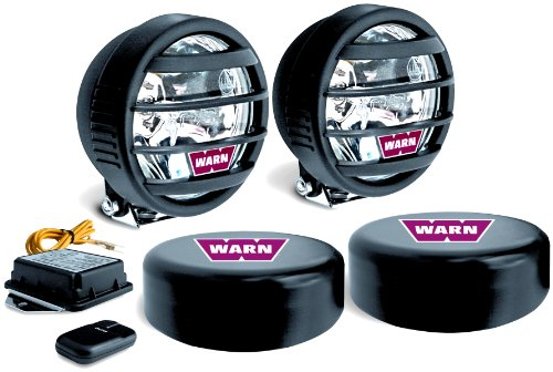 Discover Bargain Warn 82410 W350F Halogen Fog Light Kit (Pair)