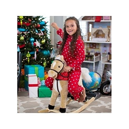 Charm-Blonde-Rocking-Horse-with-Movement-and-Sounds-New-Born-Baby-Child-Kid-Infant
