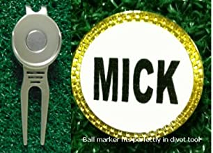 Gatormade Personalized Golf Ball Marker amp Divot Tool Mick
