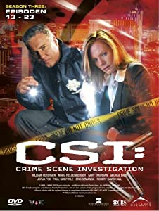 CSI: Crime Scene Investigation - Season 3.2 (3 DVD Digipack)