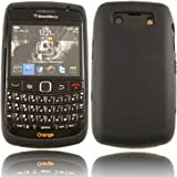 Silicone Shell Case Cover For Blackberry 9700 9780 Bold / Black Design