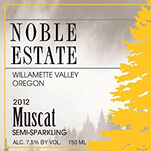 2012 Noble Estate Muscat 750 mL