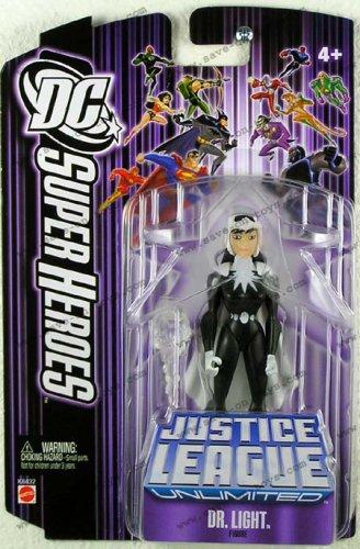 Picture of Mattel DC Super Heroes Justice League Unlimited Action Figure Dr. Light [Purple Card] (B000MMAD0S) (Mattel Action Figures)