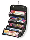 #4: Roll N Go Cosmetic Organizer New Arrival Best Selling Premium Quality Lowest Price Roll Up Travel Kit Buddy, Storage Bag, Pouch Case for Cosmetics, Jewellery, Toiletries, Hair Accessories, Medicine & Stationery, Keep Things Organized, Safe & Protected, Compact, Stylish, Practical, Compact, Convenient, Handy, Save Space, Foldable, Durable, Portable, Washable, Multifunctional, Soft, Flexible, Ideal for Travelling, Camping, Hiking, School & College Picnics, Stay Overs, For Men, Women, Boys & Girls