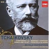 Tchaikovsky: Symphonies Nos 1-6/ Manfredby Mstislav Rostropovich