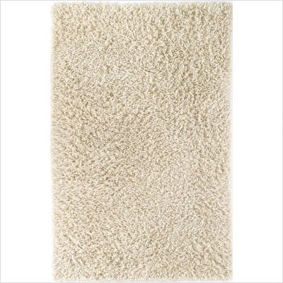 Palm Springs II Winter White Shag Rug Size: 5' x 8' Rectangle