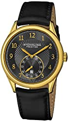 Stuhrling Prestige Men's 171B3.33351 Prestige Swiss Made Adamant Automatic Date Black Watch