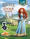 Disney Brave Sticker Scene (Disney Pixar Brave Film Tie in)