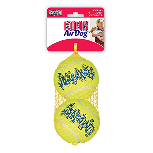 KONG Squeaker Tennis Balls, Large Dog Toy, 2-Pack (Pet Supplies For Large Dogs compare prices)