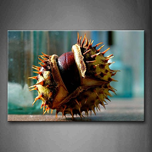 Broken Chestnut On Land Wall Art Painting The Picture Print On Canvas Art Pictures For Home Decor Decoration Gift