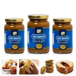3 Jar Dulce De Leche San Ignacio 450gr Milk Caramel Spread Arequipe Cajeta Bake