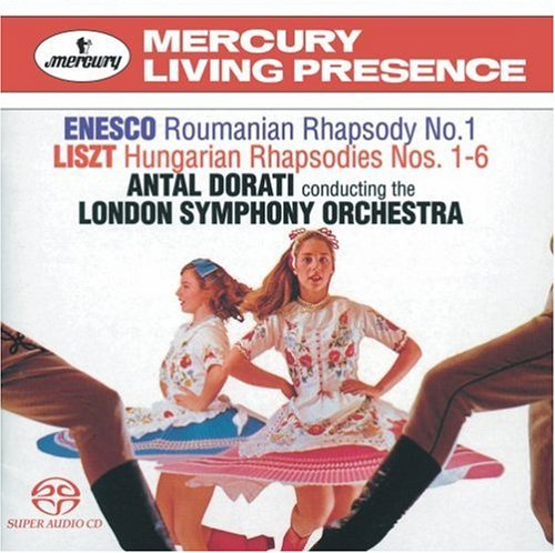 Enescu - Rhapsodies Roumaines opus 11 (n°1 et 2) 518WNG24K2L._500_