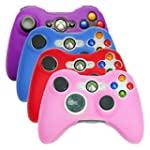 HDE Xbox 360 Controller Skin 4 Pack C...