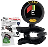 Snark SN-8 Super Tight Tuner With Planet Waves Guitar Picks Sampler Pack