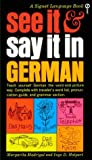 img - for See It and Say It in German book / textbook / text book