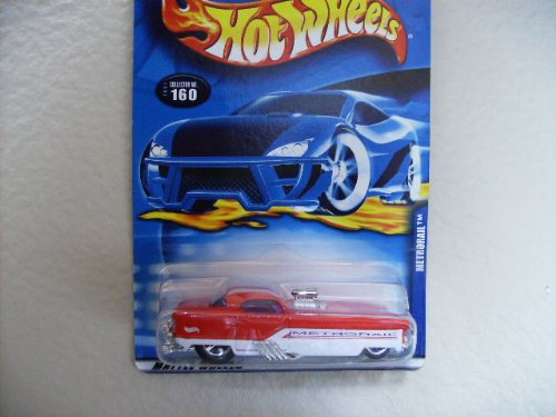 Hot Wheels 2001 Metrorail #160 [Toy]