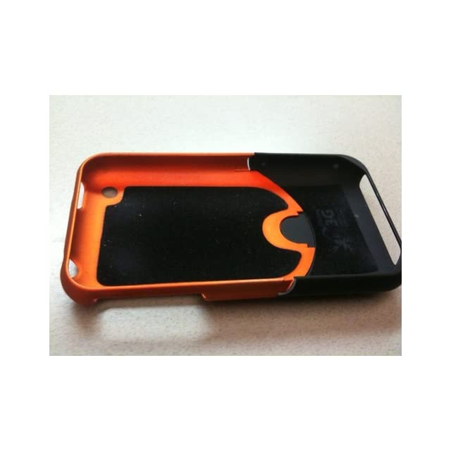 iFrogz Luxe Case for iPhone 3G, 3GS (Blue/Black) Cell Phones & Accessories